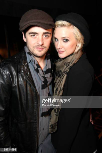Vincent Piazza and Ashlee Simpson at Rock Republic for Kohl's Fashion Show at Hammerstein Ballroom on February 10 2012 in New York City