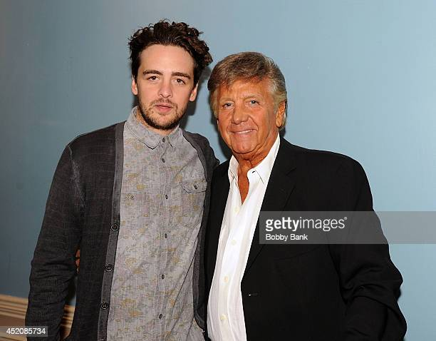 Vincent Piazza and Nick Puccio attends the 2014 Garden State Film Festival screening of 'Destressed' at The Strand Theater on July 12 2014 in...