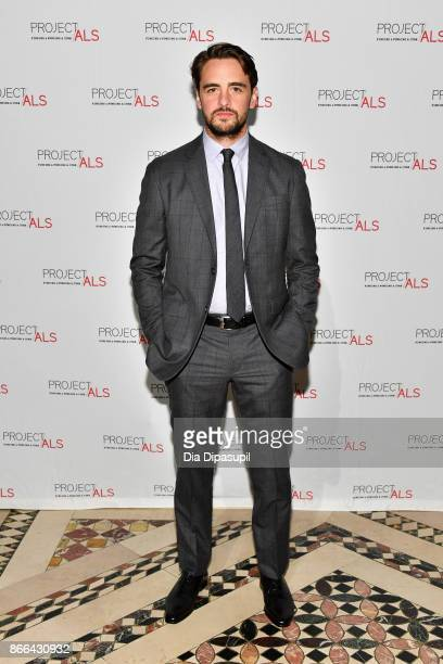 Vincent Piazza attends the 19th Annual Project ALS Benefit Gala at Cipriani 42nd Street on October 25 2017 in New York City