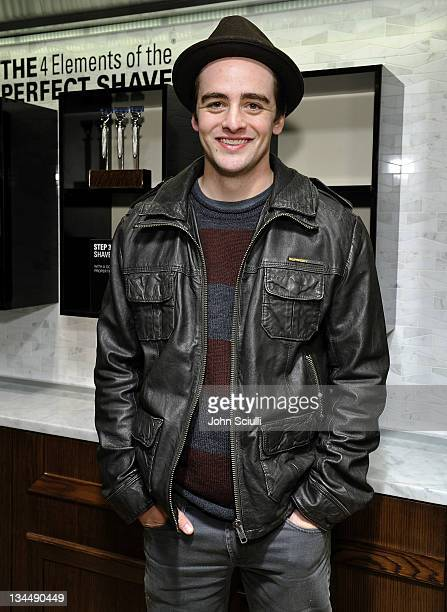 Vincent Piazza attends the opening of The Art of Shaving on December 1 2011 in Beverly Hills California