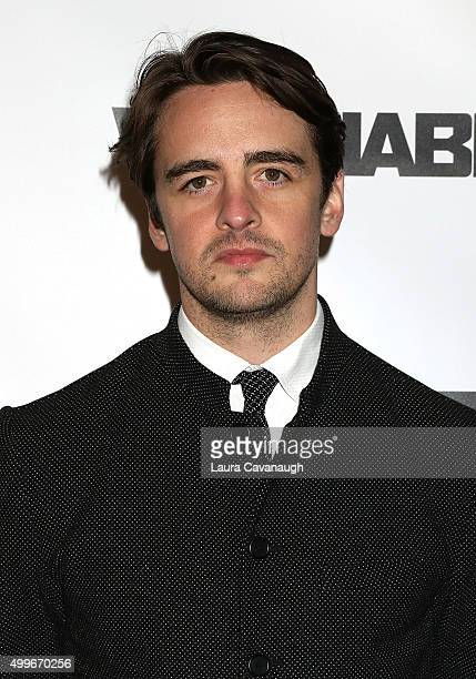 Vincent Piazza attends 'The Wannabe' New York Premiere at Crosby Street Hotel on December 2 2015 in New York City