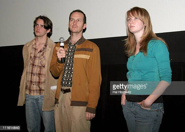 Vincent Piazza Denis O'Hare and Halley Feiffer during 2006 Sundance Institute at BAM 'Stephanie Daley' Screening at BAM Rose Cinemas in New York City...