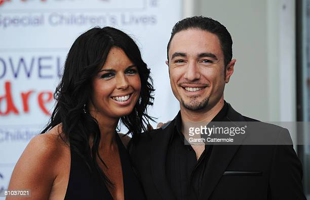 Vincent Simone and guest arrive for the Caudwell Children 'The Legends Ball' at Battersea Evolution on May 8 2008 in London England