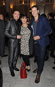 Vincent Simone Arlene Phillips and Brendan Cole attends an after party following the press night performance of 'Dance 'Til Dawn' at The The Waldorf...