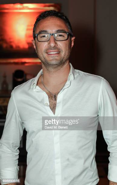 Vincent Simone attends the press night after party for 'Bat Out Of Hell The Musical' at The Institute of Directors on June 20 2017 in London England