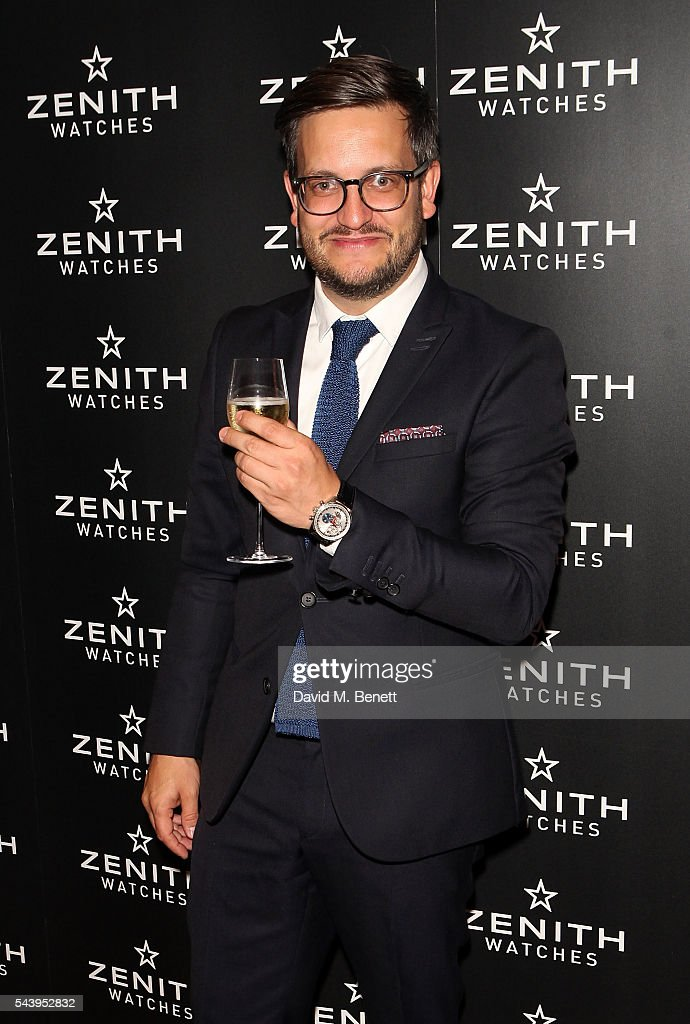 Vincent Steinmann attends an evening of cigars at Mark's club in London to celebrate the launch of Zenith's new Limited Edition timepiece hosted by Aldo Magada, CEO and President of Zenith Watches, and Nick Foulkes, Author on June 30, 2016 in London, England.