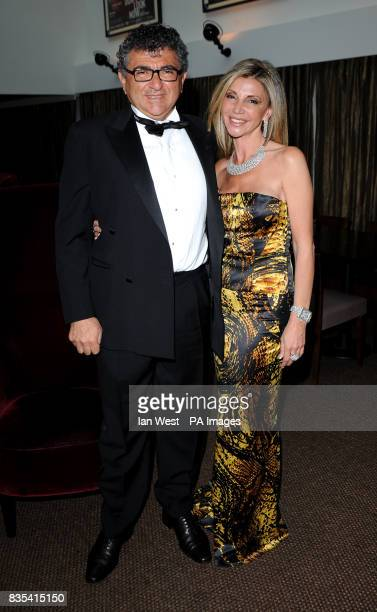 Vincent Tchenguiz and Lisa Tchenguiz at the UK Charity Gala of The World Unseen in aid of the Nelson Mandela Children's Fundat BAFTA in London