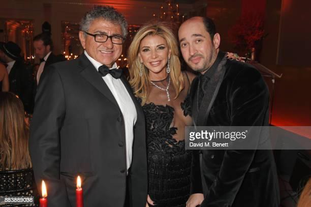 Vincent Tchenguiz Lisa Tchenguiz and Sheikh Mohammed Youseef El Khereiji attend the BOVET 1822 Brilliant is Beautiful Gala benefitting Artists for...