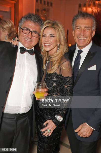 Vincent Tchenguiz Lisa Tchenguiz and Steve Varsano attend the BOVET 1822 Brilliant is Beautiful Gala benefitting Artists for Peace and Justice's...