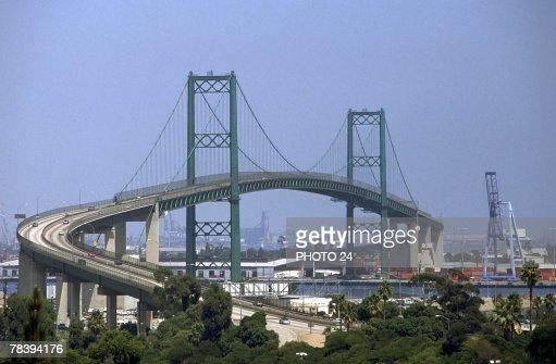 Vincent Thomas Bridge, Los Angeles Harbor