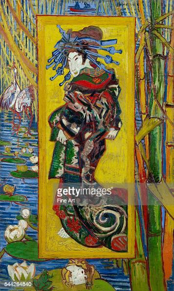 Vincent van Gogh Courtesan after Eisen OctoberNovember 1887 oil on canvas Van Gogh Museum Amsterdam