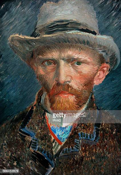 Vincent van Gogh Dutch painter Selfportrait 1887 Rijksmuseum Amsterdam Holland