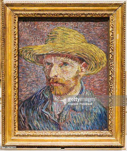 Vincent van Gogh, Self-Portrait with a Straw Hat (1887)