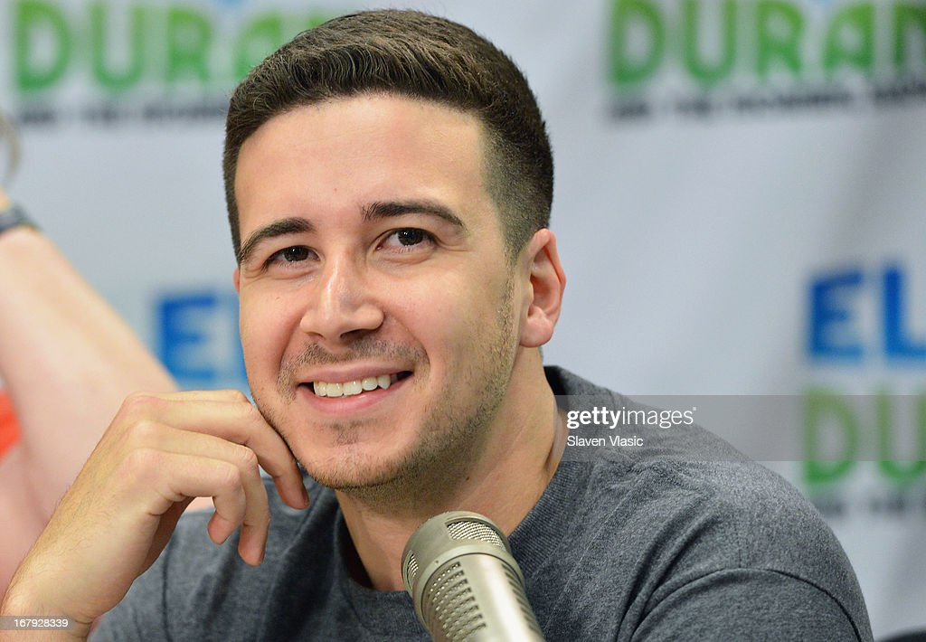 APPLY Vincent 'Vinny' Guadagnino visits Elvis Duran Z100 Morning Show at Z100 Studio on May 2, 2013 in New York City.