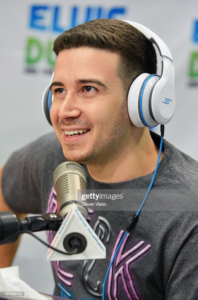 Vincent 'Vinny' Guadagnino visits Elvis Duran Z100 Morning Show at Z100 Studio on May 2, 2013 in New York City.