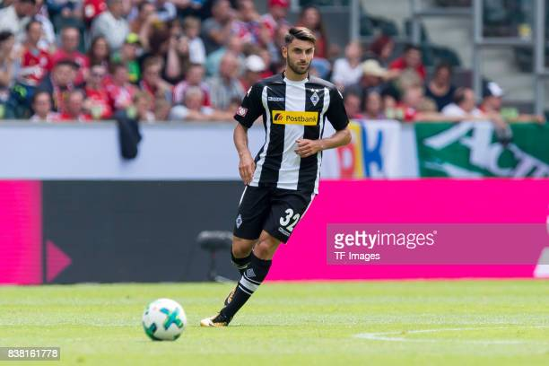 Vincenzo Grifo of Gladbach controls the ball during the Telekom Cup 2017 match between Borussia Moenchengladbach and Werder Bremen at on July 15 2017...