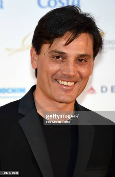 Vincenzo Montella attends the Gentleman Prize on May 22 2017 in Milan Italy
