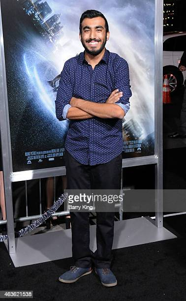 Vine and YouTube personality Wahlid Mohammad attends the premiere of 'Project Almanac' at TCL Chinese Theatre on January 27 2015 in Hollywood...