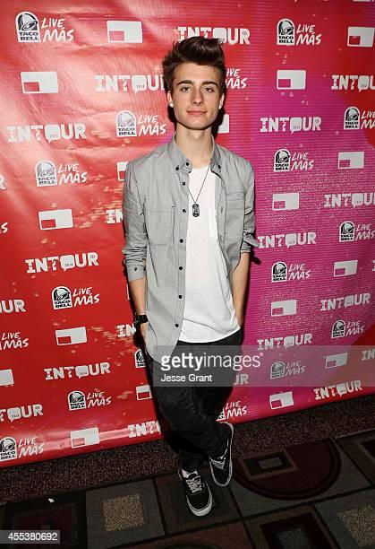 Vine star Chris Collins attends Fullscreen's INTOUR at Pasadena Convention Center on September 13 2014 in Pasadena California
