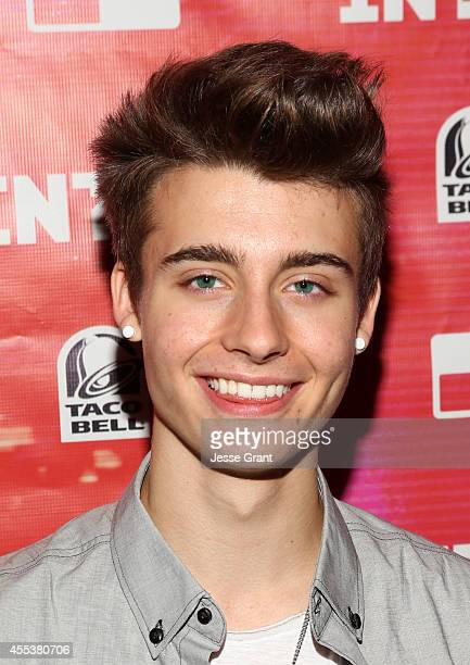 Vine star Chris Collins attends Fullscreen's INTOUR at Pasadena Convention Center on September 13 2014 in Pasadena California