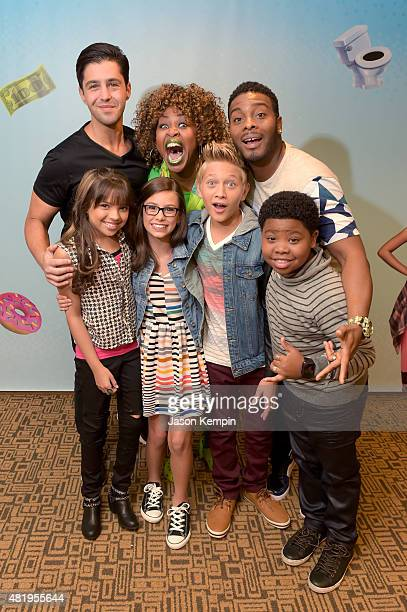 Viner superstar Josh Peck YouTube sensation GloZell and from the cast of Nickelodeon's Game Shakers Kel Mitchell Cree Cicchino Madisyn Shipman Thomas...