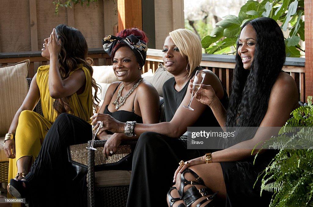ATLANTA -- 'Vineyard Visit -- Pictured: (l-r) Porsha Stewart, Kandi Burruss, NeNe Leakes, Marlo Hampton --