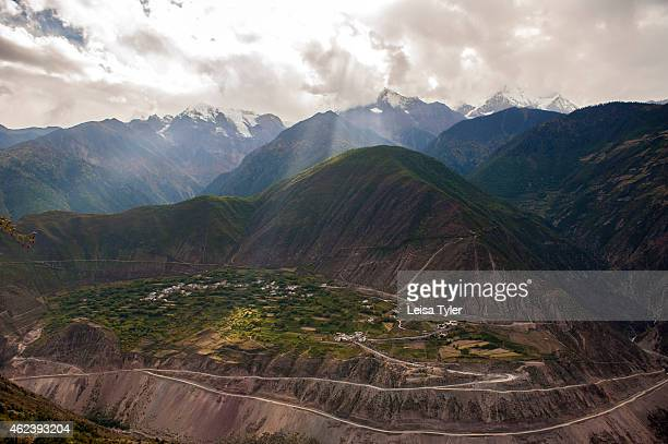 Vineyards cling to the steep slopes of the Mekong River valley here also known as the Mekong Grand Canyon in northern Yunnan Partly prompted by the...
