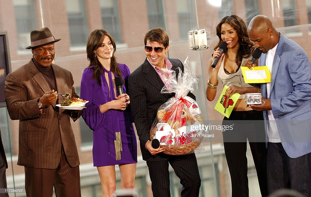 Ving Rhames Michelle Monaghan Tom Cruise and BET hosts