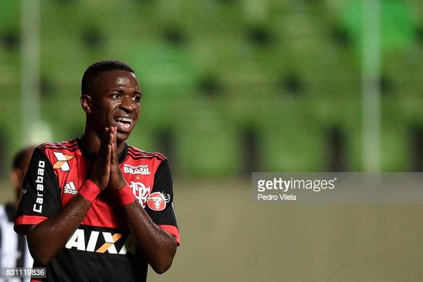 Vinicius Junior of Flamengo a match between Atletico MG and Flamengo as part of Brasileirao Series A 2017 at Independencia stadium on August 13 2017...