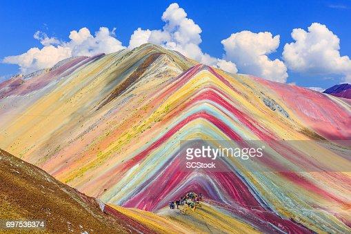 Vinicunca, Cusco Region, Peru. : Foto stock