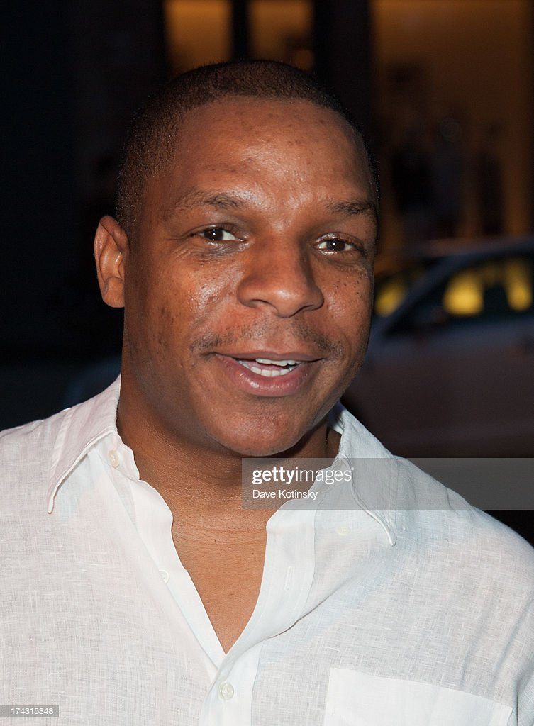Vinnie Brown of Naughty By Nature attends the 'G-Thing' Series Premiere Party at The Griffin on July 23, 2013 in New York City.