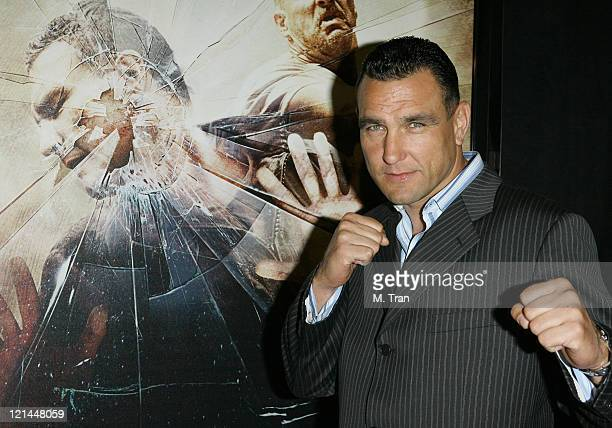 Vinnie Jones during 'The Condemned' Los Angeles Premiere Arrivals at Arclight in Hollywood California United States