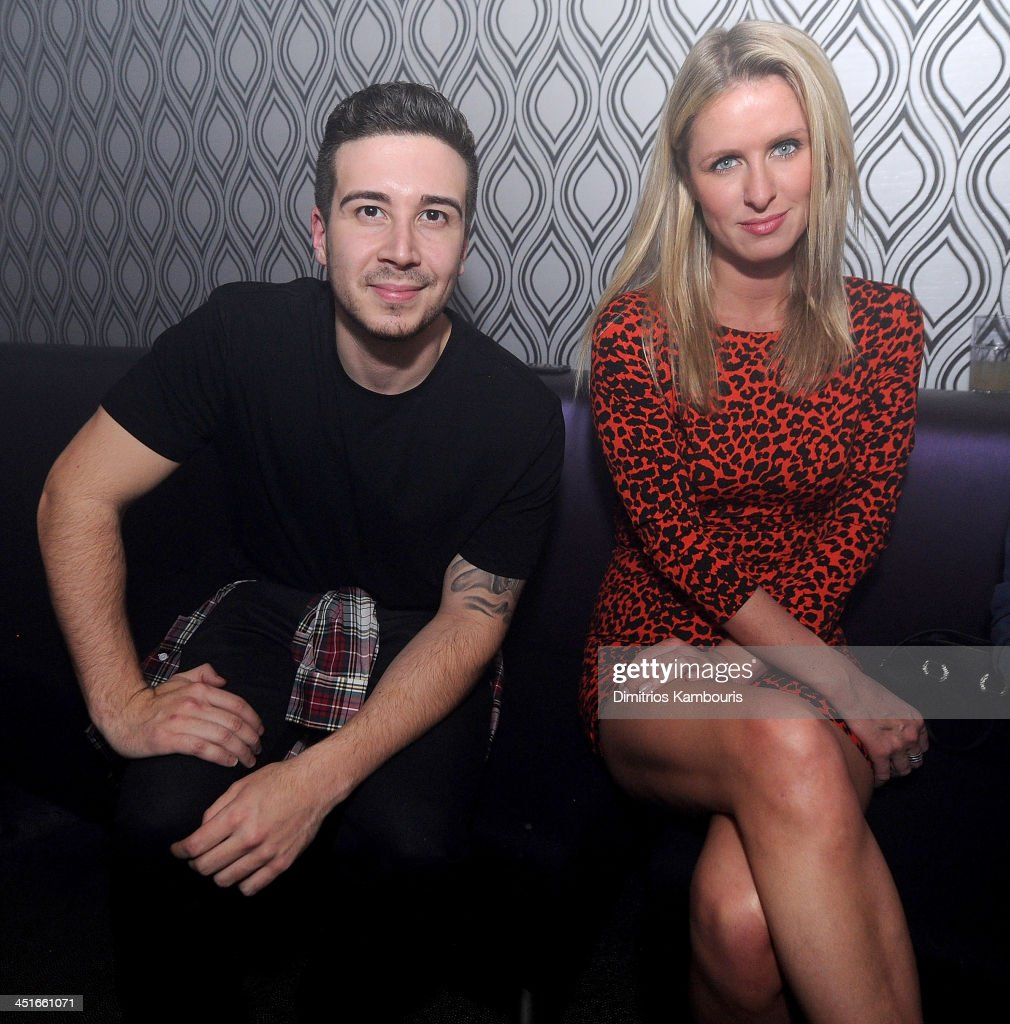 Vinny Guadagnino and Nicky Hilton attend the Grand Opening of Avalon Mohegan Sun on November 23, 2013 in Uncasville City.
