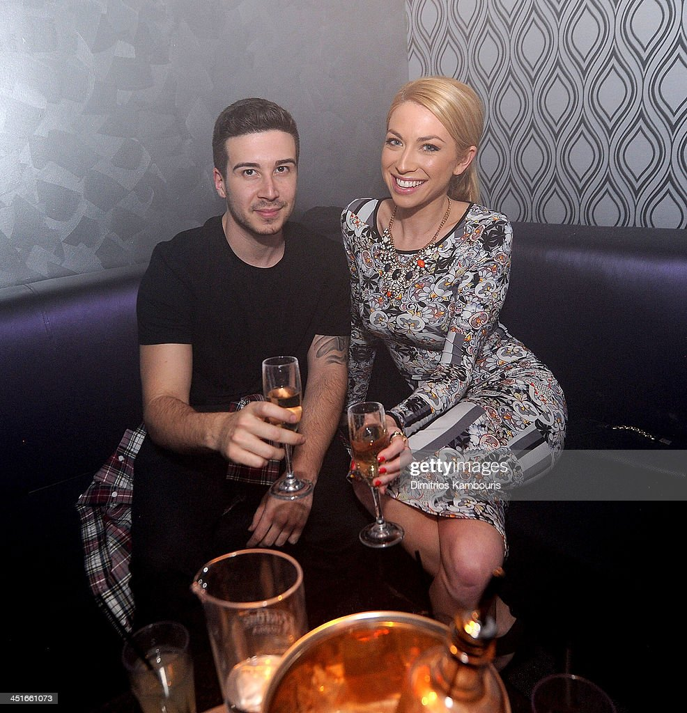 Vinny Guadagnino and Stassi Schroeder attend the Grand Opening of Avalon Mohegan Sun on November 23, 2013 in Uncasville City.