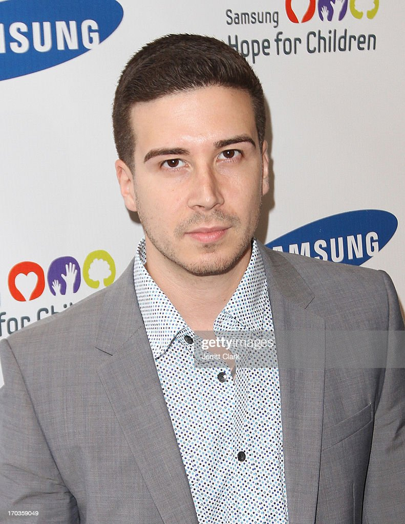 Vinny Guadagnino attends Samsung Hope For Children 12th Annual Gala at Cipriani Wall Street on June 11, 2013 in New York City.