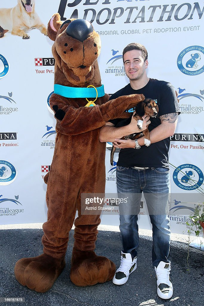 <a gi-track='captionPersonalityLinkClicked' href=/galleries/search?phrase=Vinny+Guadagnino&family=editorial&specificpeople=6693900 ng-click='$event.stopPropagation()'>Vinny Guadagnino</a> attends the 19th Annual Pet Adoptathon at North Shore Animal League America on June 1, 2013 in Port Washington, New York.