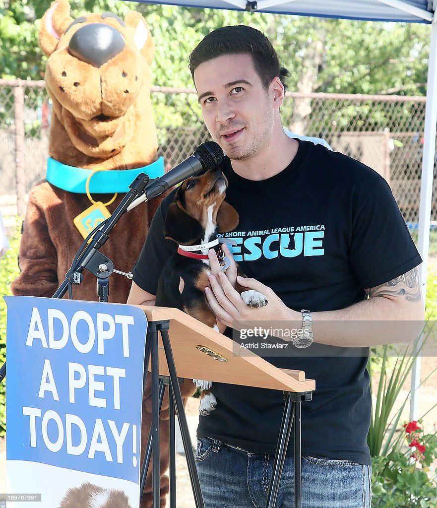 Vinny Guadagnino attends the 19th Annual Pet Adoptathon at North Shore Animal League America on June 1, 2013 in Port Washington, New York.
