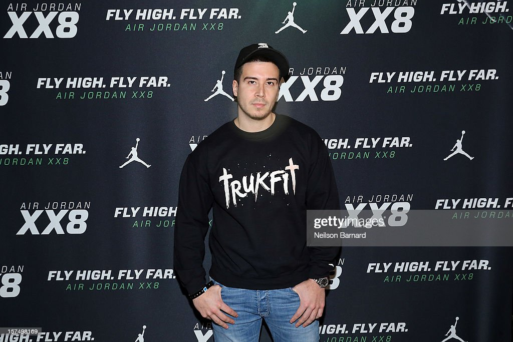 Vinny Guadagnino attends the Dare To Fly AJXX8 event at PH-D Rooftop Lounge at Dream Downtown on December 3, 2012 in New York City.