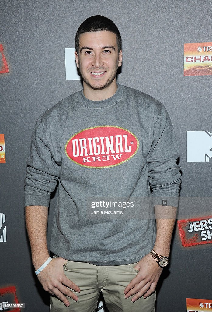 Vinny Guadagnino attends the 'Jersey Shore' Final Season Premiere at Bagatelle on October 4, 2012 in New York City.