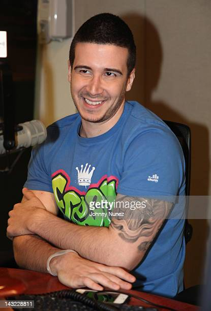 Vinny Guadagnino invades 'The Whoolywood Shuffle' at the SiriusXM Studio on April 18 2012 in New York City