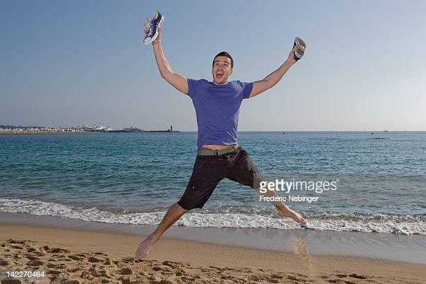 Vinny Guadagnino poses for 'Jersey Shore' Photocall as part of MIP TV at Hotel Majestic on April 1 2012 in Cannes France