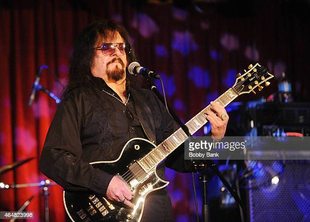 Vinny Martell of Vanilla Fudge performs at BB King Blues Club Grill on February 27 2015 in New York City