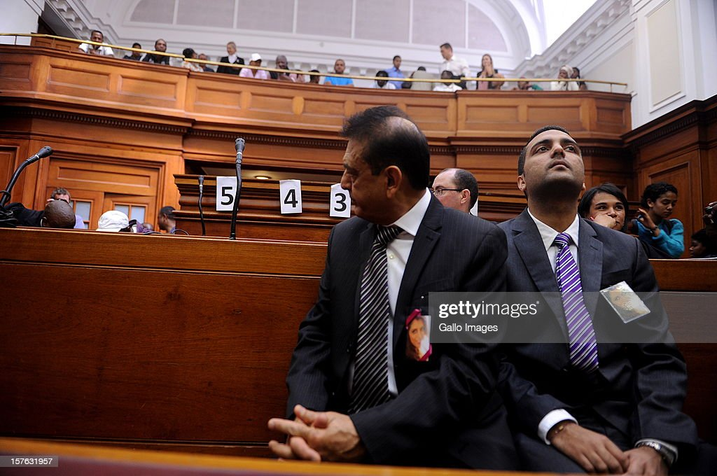 Vinod Hindocha, father of murdered Anni Dewani at the Cape Town High Court on December 5, 2012 in Cape Town, South Africa. Xolile Mngeni was sentenced to life in prison for the murder of Anni Dewani.