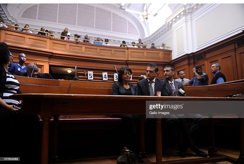Vinod Hindocha, father of murdered Anni Dewani at the Cape Town High Cour at the Cape Town High Court on December 5, 2012 in Cape Town, South Africa. Xolile Mngeni was sentenced to life in prison for the murder of Anni Dewani.