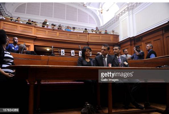 Vinod Hindocha father of murdered Anni Dewani at the Cape Town High Cour at the Cape Town High Court on December 5 2012 in Cape Town South Africa...