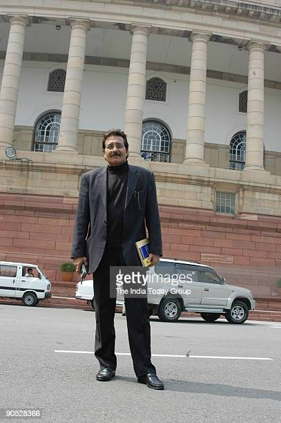 Vinod Khanna at Parliament House in New Delhi India