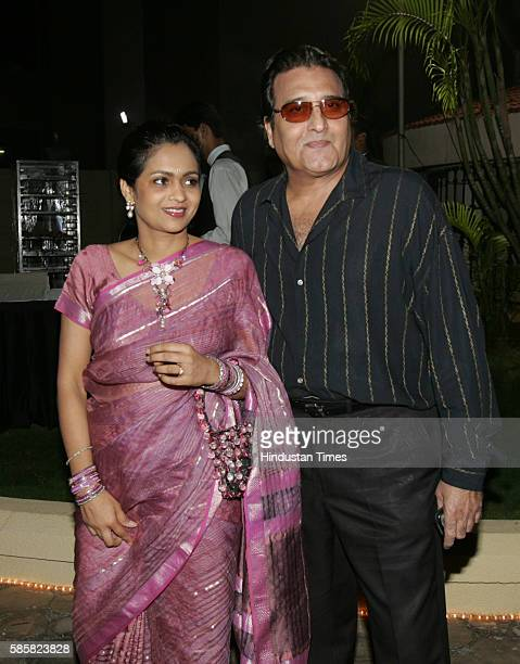 Vinod Khanna with Kavita 24 Oct 2005 Vijayanand Gupta