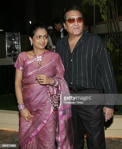 Vinod Khanna with Kavita Khanna Subhash Ghai 's Party