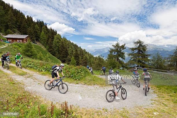 Vinschgau downward curve, South Tyrol