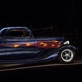 "Vintage 1934 ""Flame"" Car"